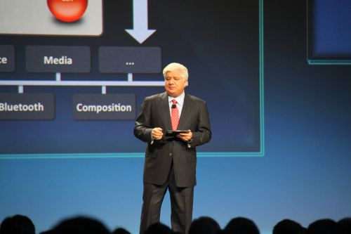 Co-CEO of RIM, Mike Lazaridis, opened the keynote at the BlackBerry Developers Conference with the biggest buzz to date...a 7-inch tablet called the PlayBook (yes, he's holding one in his hand).