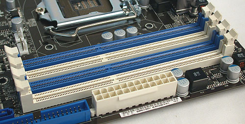 Up to DDR3 2600 is supported on this board, with a maximum total of 16GB of system memory.