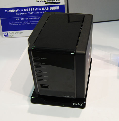 Synology's newest slim NAS, the DiskStation DS411 has won a Best Choice award at Computex 2011.