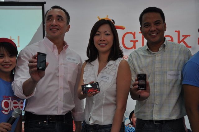 Gracing the event were Mr. Patrick Larraga, Marketing Manager, Sony Ericsson Philippines; Ms. Tammy Teo, Senior Manager, Digital Marketing and Public Relations, Asia-Pacific Region; and Mr. Vincent Angelo de la Cruz, Product Group Marketing Manager, Sony Ericsson Philippines.