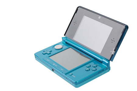 The layout pretty much resembles other DS systems save for the addition of the circle pad.