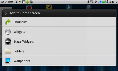 Dubbed as Stage Widgets, these widgets are linked to the basic features of the Streak.