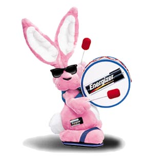 Mobile phones  aspire to be like the Energizer bunny, hoping to keep going and going and going and.... you know what we meant.