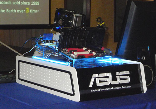 Though it's more than a month away from the actual Sandy Bridge launch, ASUS gathered the regional media in Asia Pacific for a technical briefing on some of the new technologies that you're likely to see on its motherboards in 2011.