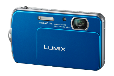 The Panasonic LUMIX DMC-FP5.