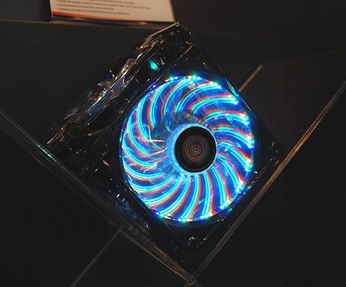 Enermax has mastered the art of controlling circular type LED-lit fans as they are among the industry's most dazzling and brightest around.