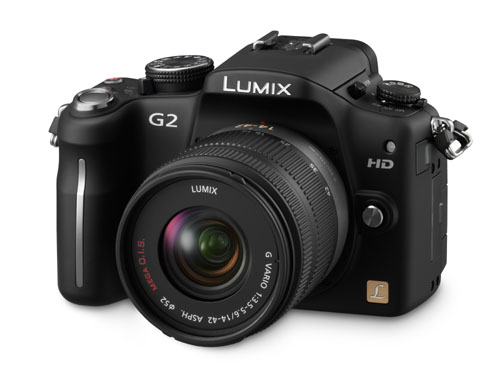 The all new Panasonic Lumix DMC-G2.