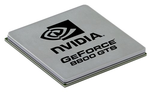 Behold, the GeForce 8800 graphics processor - the first DirectX 10 compliant GPU.
