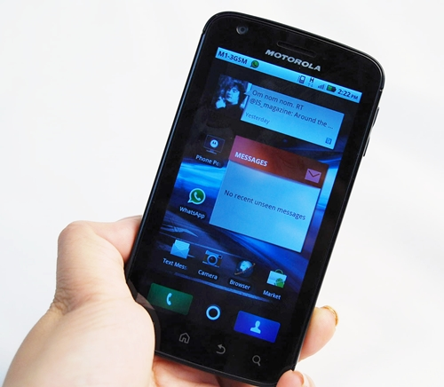 The Motorola Atrix does feel like it has a good mix of portability and power.