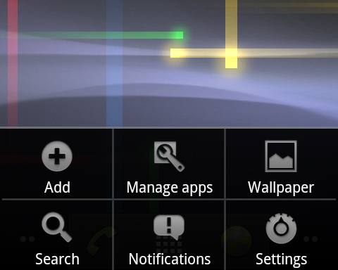 The Manage Apps option gives you immediate access to the stock task manager, allowing you to see which apps have been draining your battery and stopping it if required.