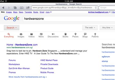 Wondrous Google Search Revamped For Tablets Hardwarezone Com Sg Beutiful Home Inspiration Semekurdistantinfo
