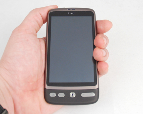 The new HTC Desire.