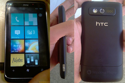 HTC's Windows Phone 7 Device Leaked, Named Spark ...