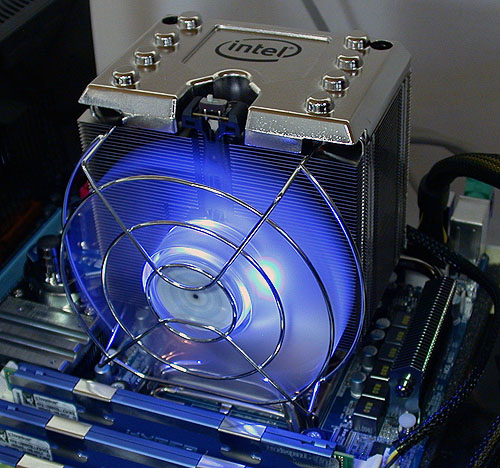 We haven't seen such a large stock cooler from any CPU vendor for like, forever.