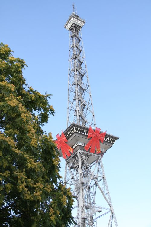 The annual IFA consumer electronics trade fair celebrates its 50th show this year. Even the iconic Berlin Radio Tower, which greets all visitors to the IFA show, isn't spared from being part of the celebration.