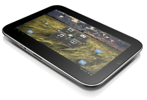 The IdeaPad Tablet K1 is one of three in Lenovo's first salvo of tablets to the market.