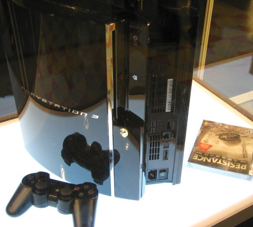 The PS3 is just a stunning piece of technology from whichever angle you care to admire.