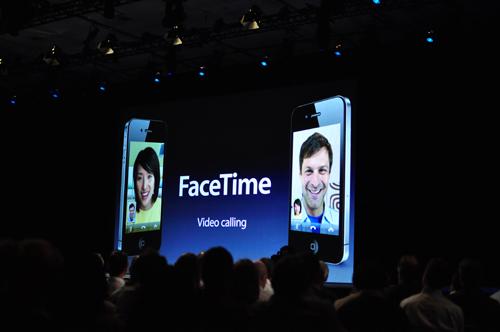FaceTime video calls.