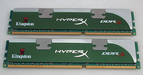 Kingston's LoVo series appears to use the same heat spreader as its other HyperX memory modules (Genesis series). Except for the choice of green to represent its eco-friendly status.