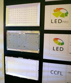 "As shown, Philips has coined their upcoming Full LED backlighting technology as ""LED Pro"", while the currently deployed Edge LEDs are simply known as ""LED"". Hmm, we wonder if Philips might want to consider the moniker ""AmbiLED"" instead?"