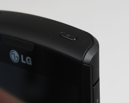 It was quite a bit of trouble to locate the flat designed power button without glancing the top of the phone.