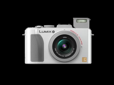 The white color version of the LUMIX FX5.