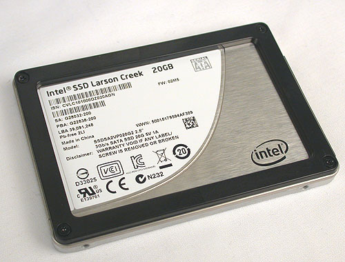 Intel appears to have created a SSD designed just for Intel Smart Response.