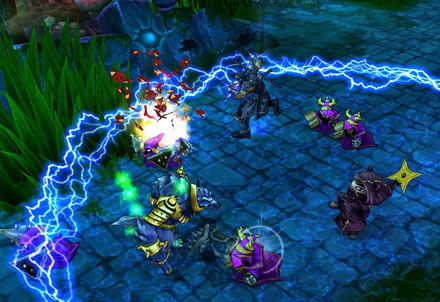 League of Legends adds much more content over DotA