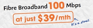 The cheapest fibre broadband plan in town at $39 per month