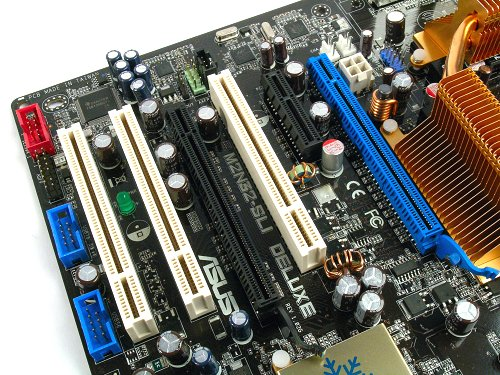 Built for SLI, but limited PCIe and large graphics cards will block out almost all other expansion slots.