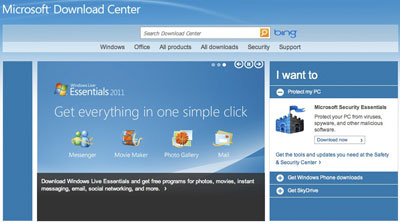 microsoft download center gets new design hardwarezone com sg