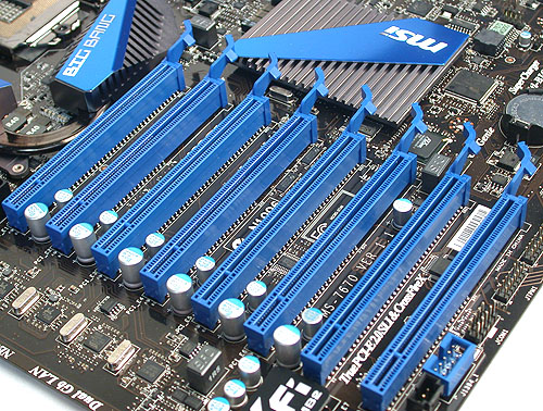 Again, we can't imagine ever requiring eight PCIe slots on any PC system.