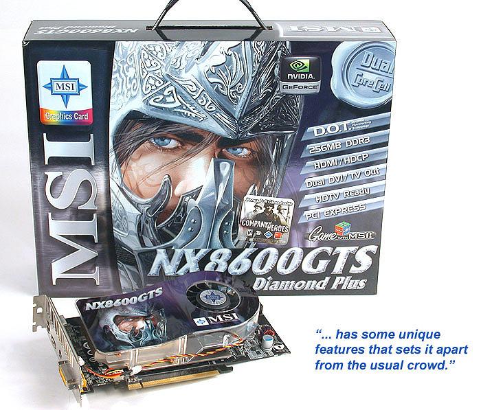 MSI NX8600GTS DIAMOND PLUS TREIBER HERUNTERLADEN