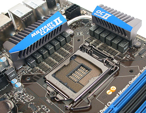 All those high-quality components are focused mainly at the CPU socket region, where power delivery to the processor is important to ensure stability and of course for the enthusiasts, overclocking headroom.
