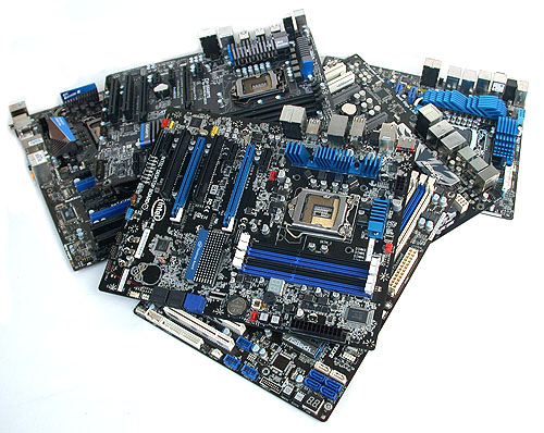 Our man-made molehill made out of mainstream motherboards using Intel's P67 Express chipset.