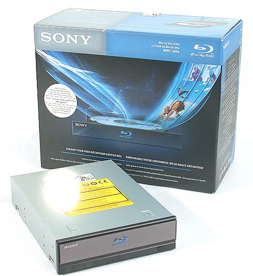 Sony's new Blu-ray drive - the BWU-100A.