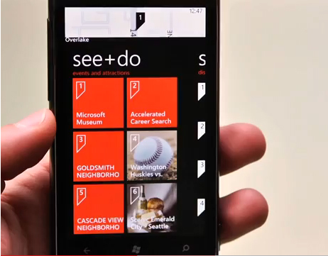 New updates to the Bing service, such as Vision and Local Scout, adds more search-related features to the Windows Phone 7 platform.