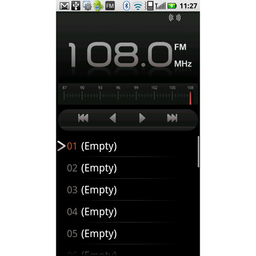 The addition of a FM radio feature has become quite common of late on newer Android devices.