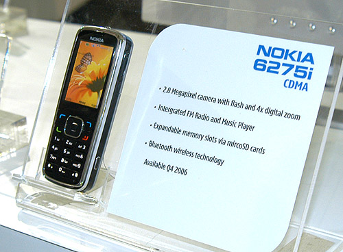 Featuring a 2.0-megapixel camera and a strong suite of features, the Nokia 6275 fits in with the mid-range segment.