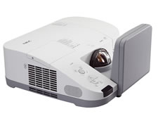 NEC U300W Ultra Short Throw Projector
