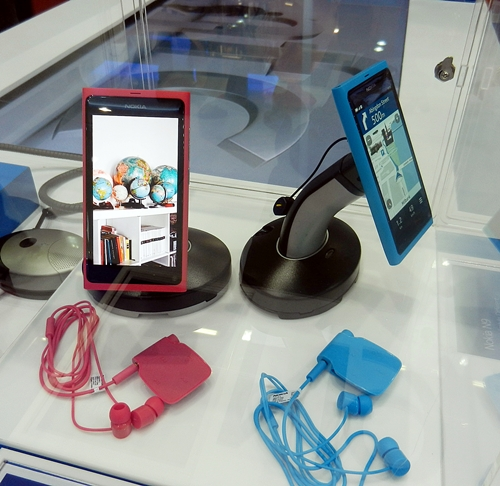 The Nokia N9 gets an official launch at CommunicAsia 2011.