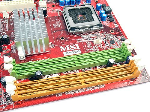 MSI gives the DIMM slots plenty of breathing room and good circulation. Also frees up vertical spacing between the CPU socket.