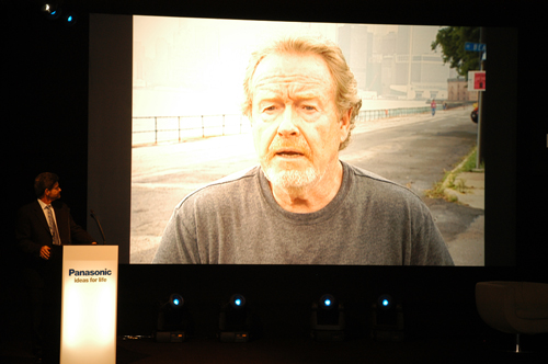 Director of Kingdom of Heaven, Ridley Scott, makes a special pre-recorded appearance at the Panasonic IFA Press Day Conference and shares his excitement about the upcoming Kingdom of Heaven (Director's Cut) Blu-ray Disc due to be released by Twentieth Century Fox in October.