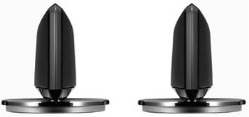 Satellite Type Sound Wing Speakers