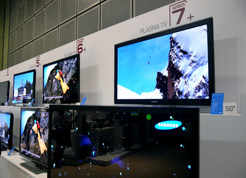 Samsung's 3D TVs, including their Plasma 7+ series, are built in compliance with the major 3D formats and, of course, the recently ratified Blu-ray 3D standard.