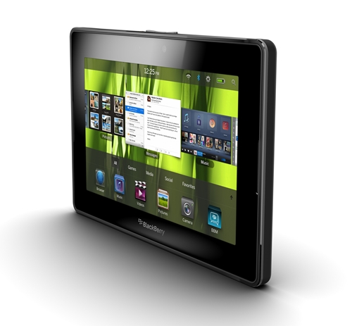 The BlackBerry PlayBook has finally arrived after months of waiting.