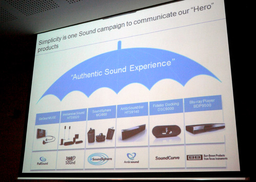 "In line with their ""Obsessed with Sound"" campaign, here's a sneak preview of incoming Philips audio systems soon to be launched in Asia Pacific. As the image suggests, Philips is intent on bringing you an authentic sound experience with the introduction of these six hero products."