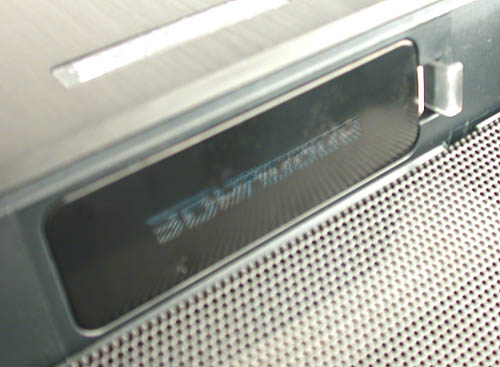 The transparent panel for the light beam projector can be easily removed now for those looking to customize and create their own logo or label.