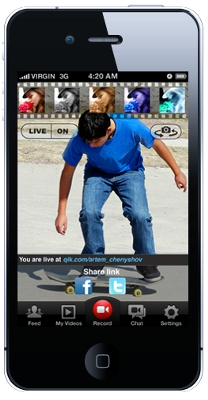 Qik Launches New iPhone Video Apps - HardwareZone com sg