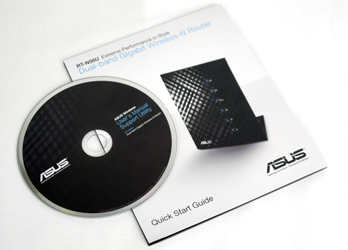 ASUS is bundling the router with a Quick Start Guide which comes with basic setup instructions. If it is too brief or simple for you, there is a more concise edition waiting in the CD.